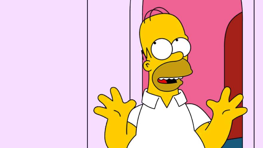 Los personajes de los Simpson tienen cuatro dedos
