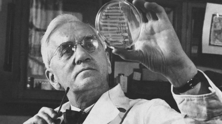 Alexander Fleming fue quien descubrió la penicilina