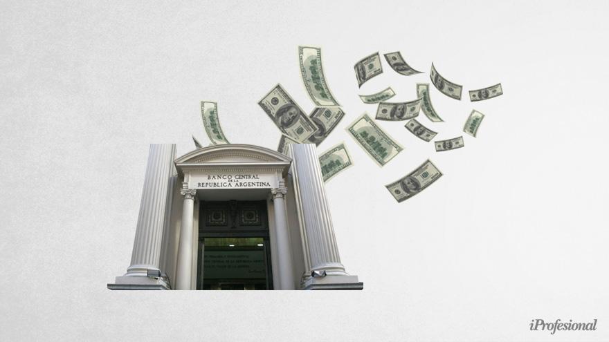 Con el ingreso de divisas por exportaciones, el BCRA interviene el mercado del dólar MEP.