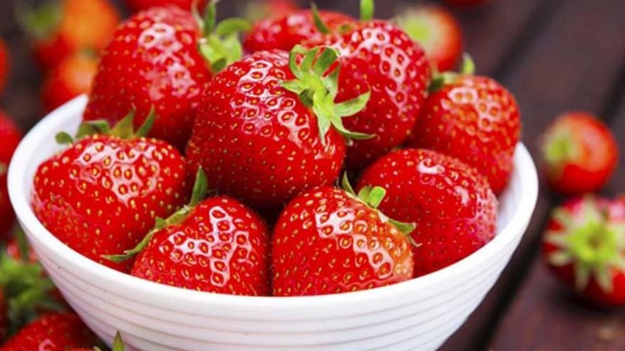 Las frutillas son una sabrosa fruta que se puede incorporar de muchas maneras