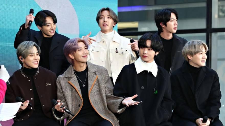 BTS es una de las bandas más escuchadas del 2020