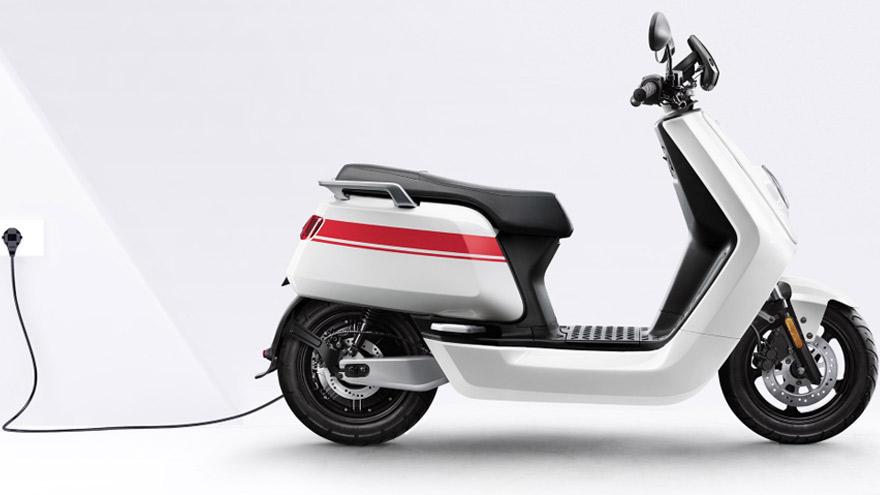 Conectada: la NGT, una de las motos eléctricas de Nuuv.