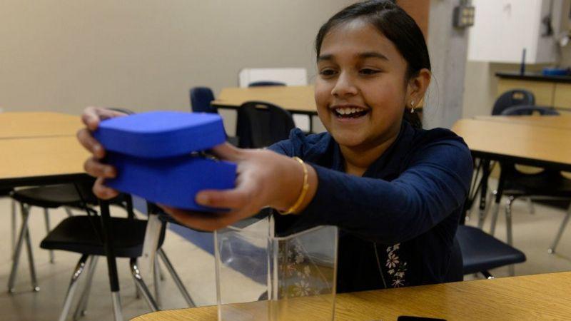 Gitanjali Rao fue también nombrada mejor científica joven, cuando tenía 11 años
