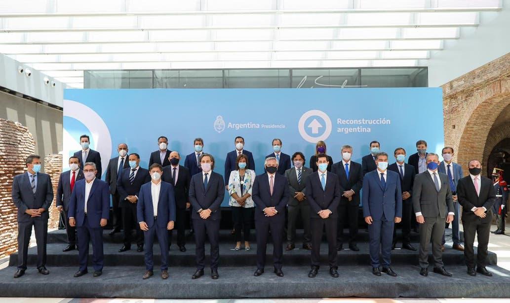 Gobernadores de 21 provincias se reunieron en Casa Rosada