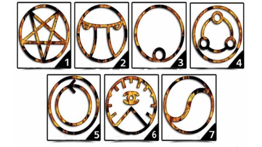 Los símbolos para elegir