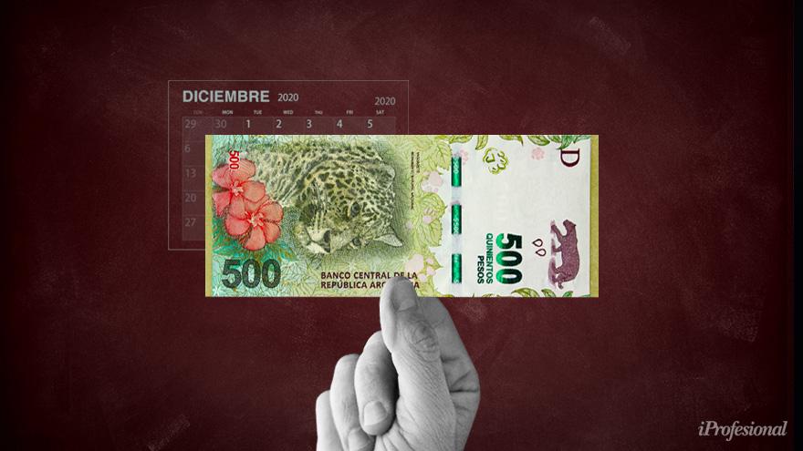 El pago de los aguinaldos del sector público amplía las necesidades de financiamiento del Tesoro