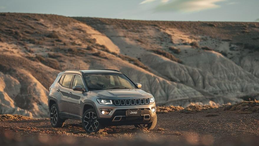 Jeep Compass, uno de los SUV más exitosos del mercado.