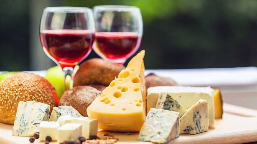 El queso y el vino fueron dos alimentos clave en la investigación