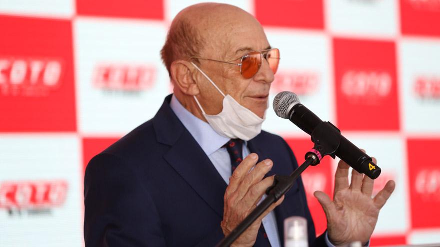 Alfredo Coto habló en la inauguración.