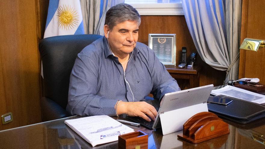 Ariel Amoroso es el presidente de la Asociación de Hoteles, Restaurantes