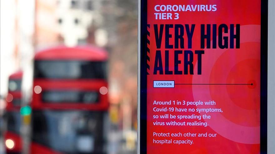 Reino Unido es uno de los países que más contagiados tiene por coronavirus