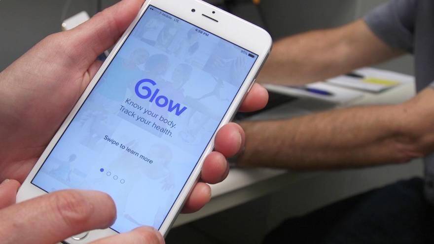 Glow es una de las apps para controlar el ciclo menstrual