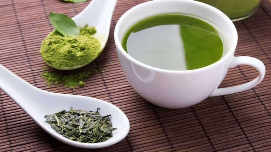 El té verde matcha es uno de los tiposque más se consume en Japón