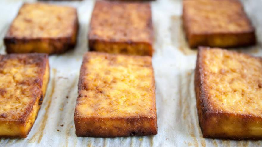 El tofu se puede comer asado