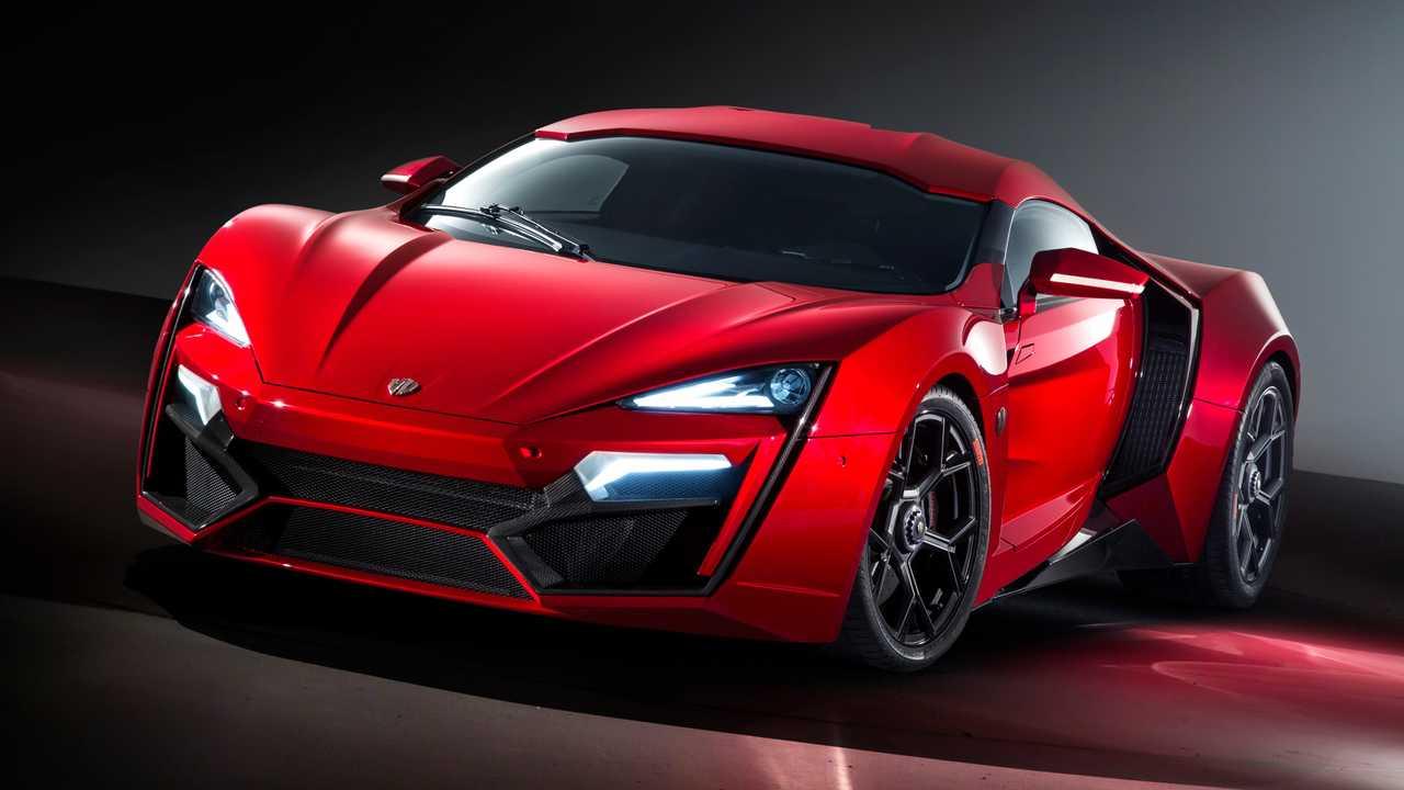 Lykan Hypersport, otro de los autos más caros del mundo.