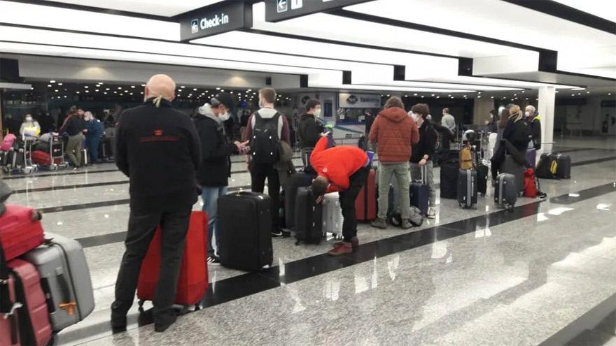 Por el momento, la reducción de frecuencias sólo afectará a los vuelos internacionales.