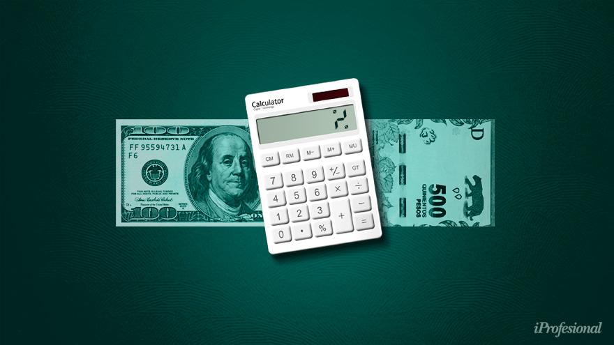 Los economistas estiman que el precio del dólar acompañará a la inflación durante este año, pese a ser un año electoral.