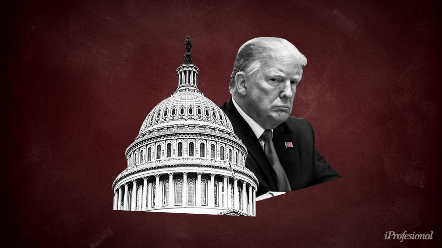 Trump condenó los ataques al capitolio del pasado miércoles