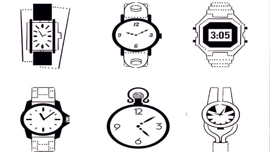 El test consiste en elegir un reloj