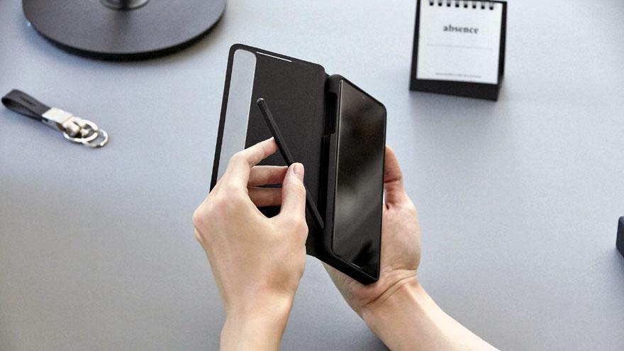 El Samsung Galaxy S21 Ultra ofrece la posibilidad de utilizar un lápiz óptico.