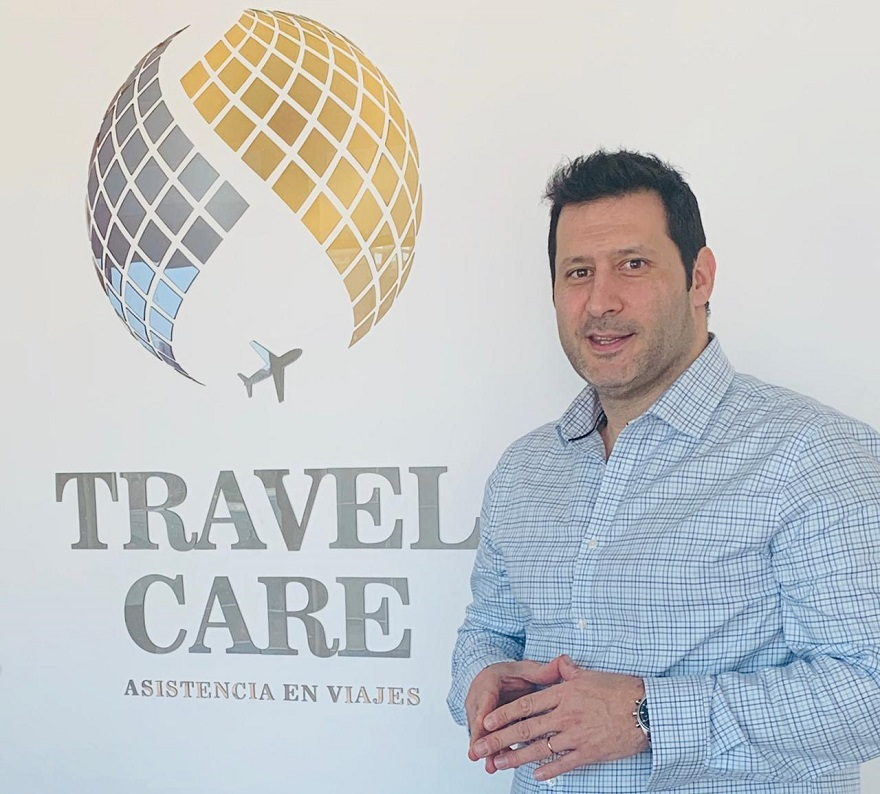 Jerónimo Pou es director general de Travel Care Asistencia.