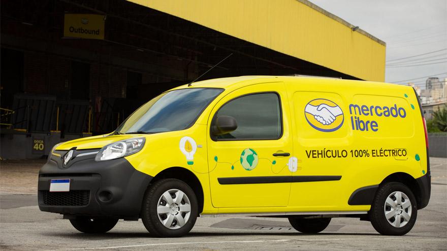 Mercado Libre ya opera una flota de utilitarios eléctricos en varios países de Latinoamérica.
