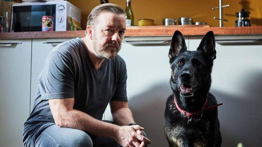 After Life, el éxito más reciente del comediante Ricky Gervais.