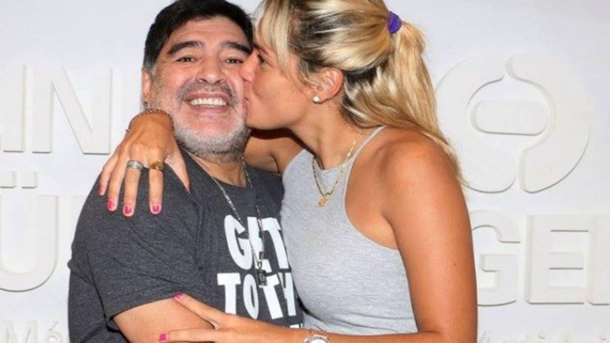 La relación entre Diego Maradona y Rocío Oliva fue turbulenta
