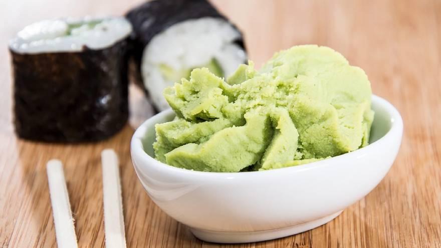 El wasabi es picante y tiene sustancias que ayudarían a acelerar el metabolismo
