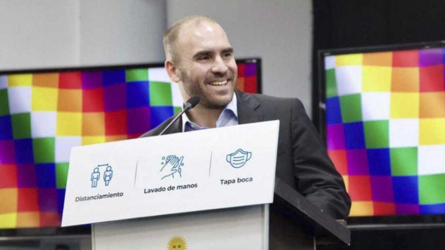 Guzmán, ministro de Economía, a quien criticó Melconián por el plan económico.
