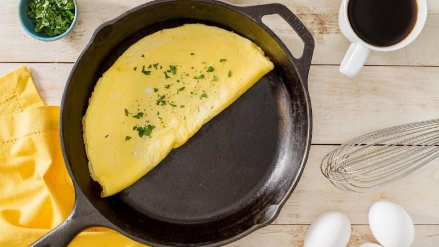 El omelette entra en la lista de qué comidas son saludables