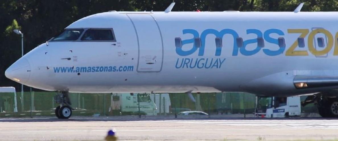 La aerolínea uruguaya Amaszonas anunció el cierre de los vuelos de pasajeros