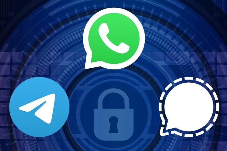WhatsApp, Telegram y Signal pujan por el negocio de la mensajería instantánea.