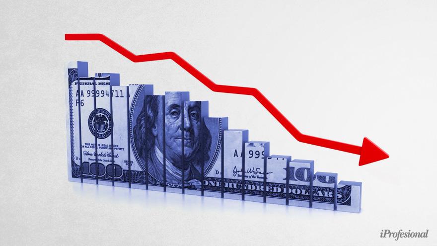 El dólar blue retrocedió desde los históricos $195 que marcó el 23 de octubre pasado.