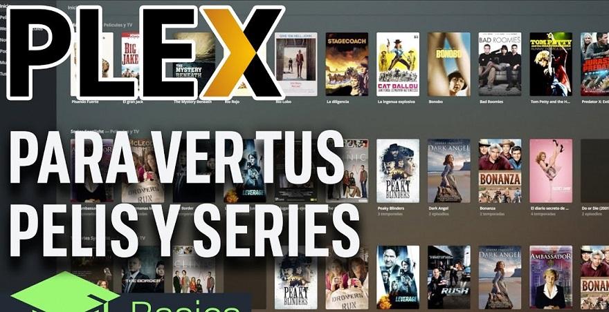 Plex, otras de las páginas para ver películas gratis.