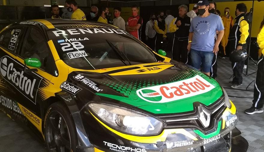 El Renault Team listo para salir a las pistas.