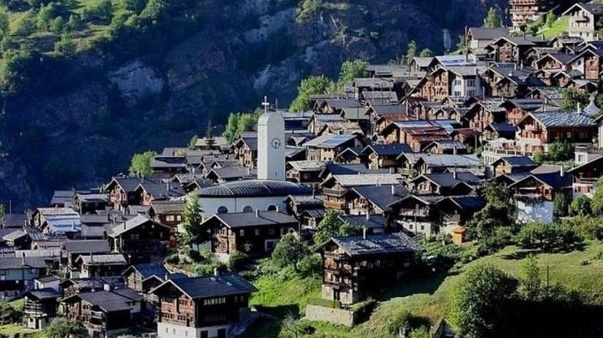 Albinen en Suiza: lugares donde te pagan para vivir