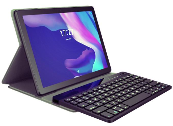 Una de las tabletas de Alcatel para la vuelta al colegio incluye teclado.