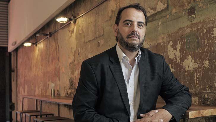 Gabriel Michi, periodista del canal C5N