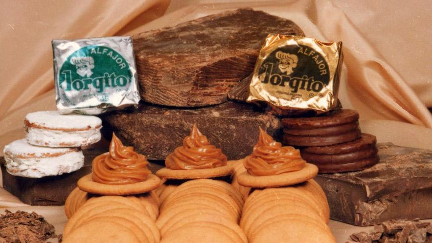 La famosa dupla de Jorgito en 1980, un momento de expansión para la empresa.