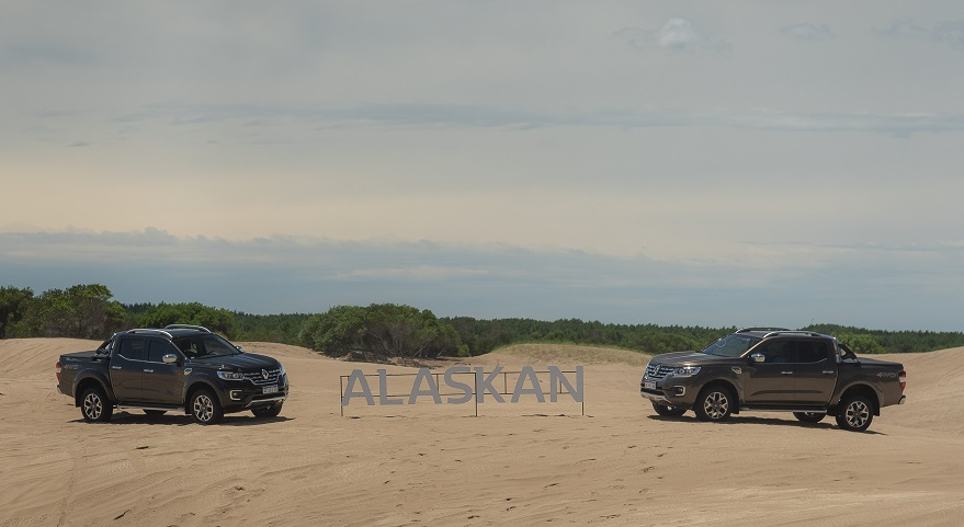 Renault Alaskan, un nuevo jugador entre las pick ups.