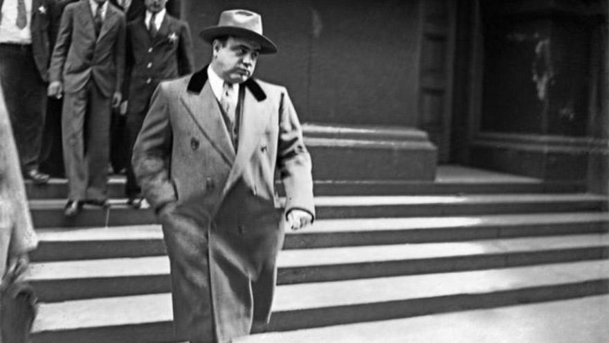 Sin escrúpulos: Lustig llegó a estafar a Al Capone.