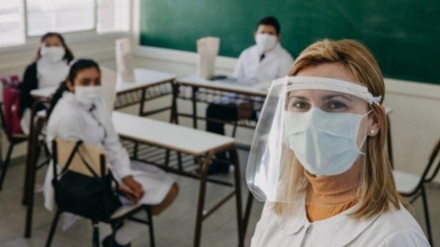 El regreso a las aulas es paulatino en América latina.