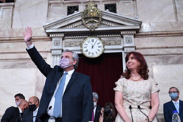 Alberto Fernández abrió las sesiones ordinarias del Congreso