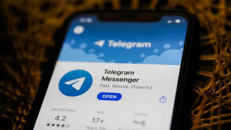 Telegram es muy popular en Rusia y Medio Oriente.