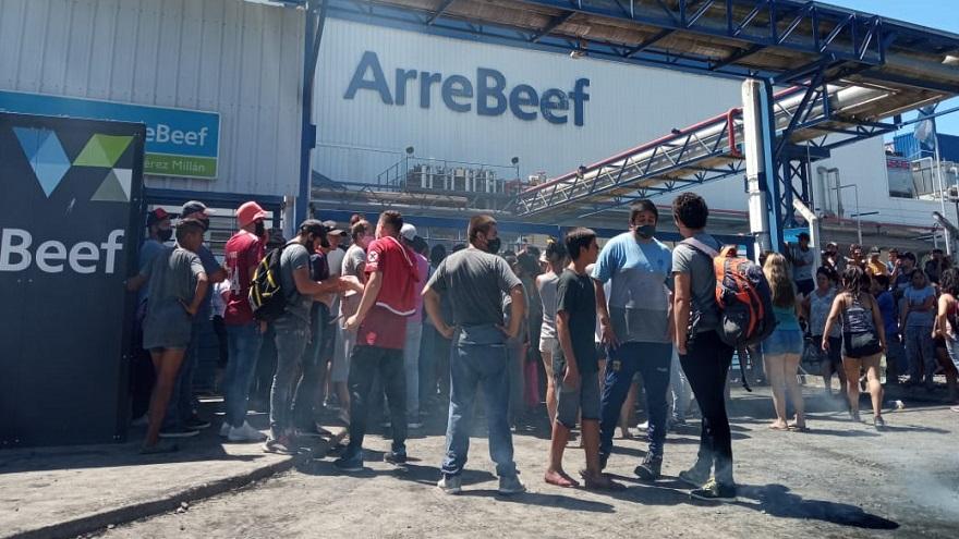 El frigorífico ArreBeef vuelve a trabajar