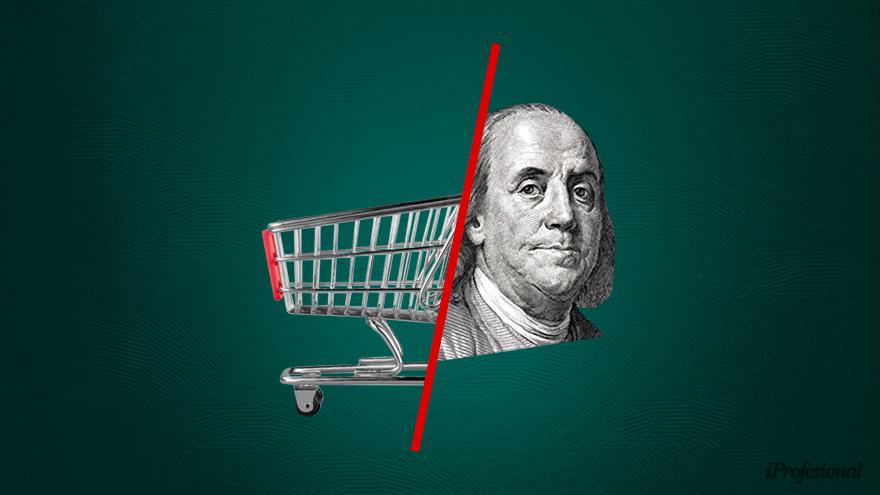 Mientras el blue estaba planchado, la inflación rondó el 25% en el primer semestre.