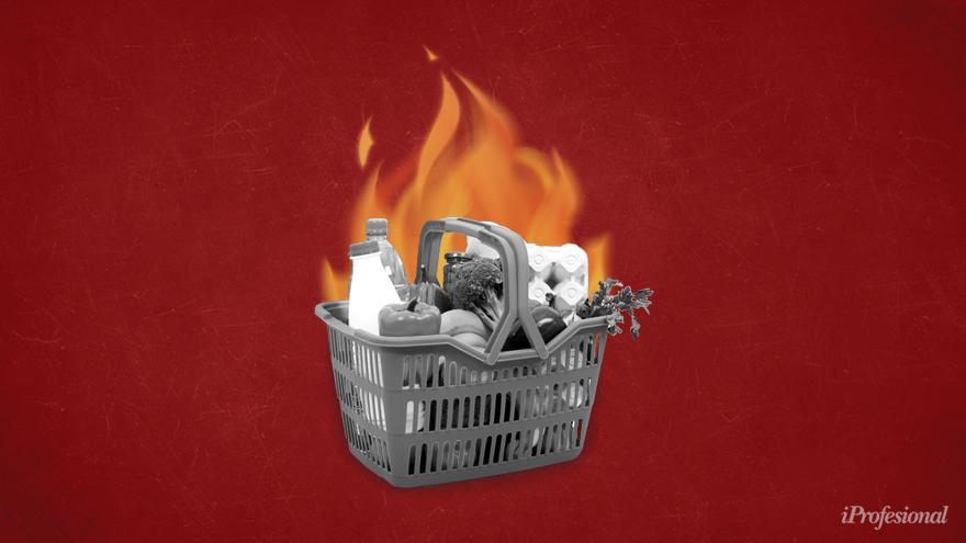 La inflación en alimentos no cede y desata internas en el equipo económico