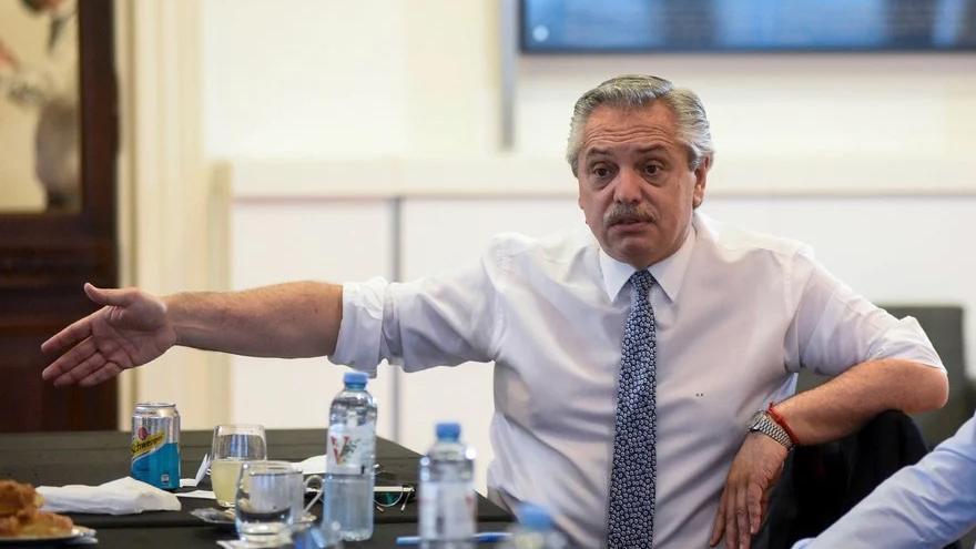 Alberto Fernández, entre los de peor imagen.