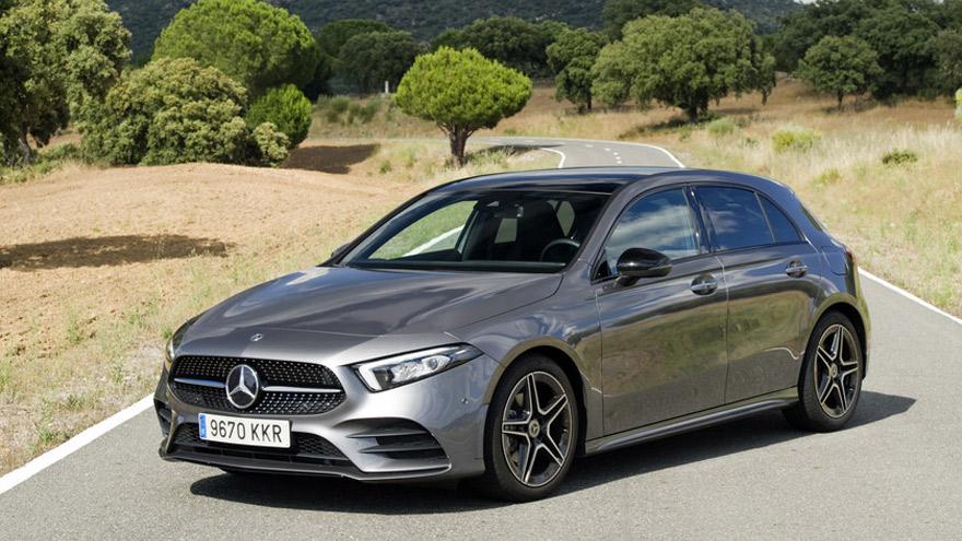 Mercedes Benz, otra de las marcas con poco stock.